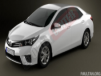 Corolla 2015 Yeni Kasa